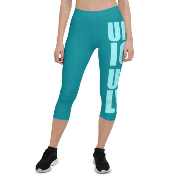 Uniquely Different - Women Capri Leggings 1