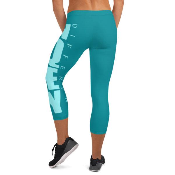 Uniquely Different - Women Capri Leggings 2