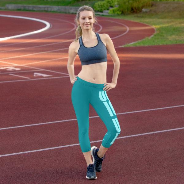 Uniquely Different - Women Capri Leggings 3