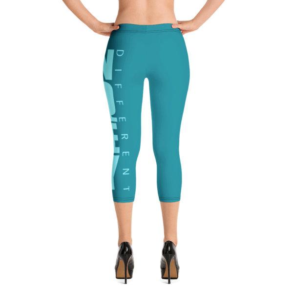 Uniquely Different - Women Capri Leggings 4