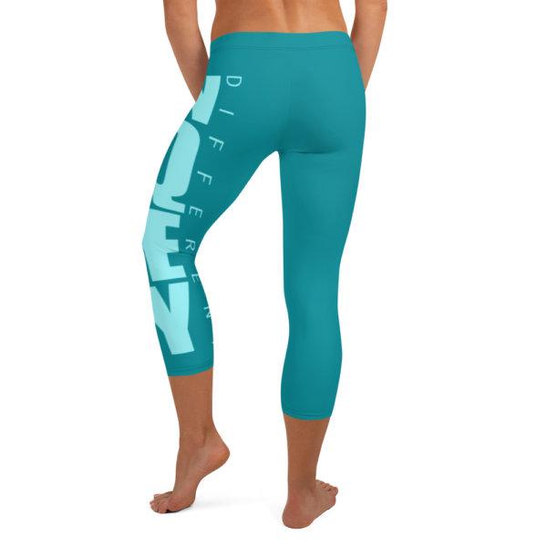 Uniquely Different - Women Capri Leggings 5