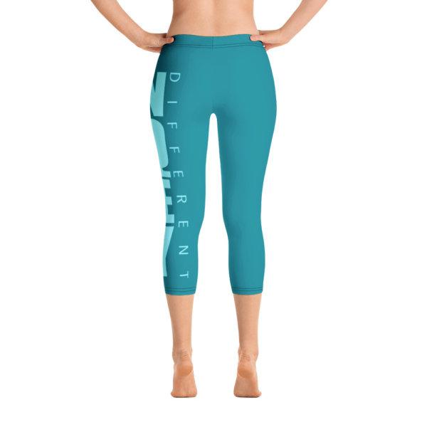 Uniquely Different - Women Capri Leggings 6