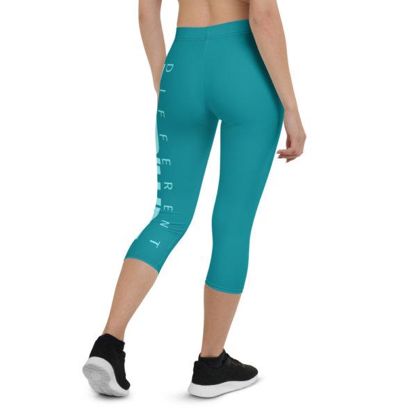 Uniquely Different - Women Capri Leggings 7