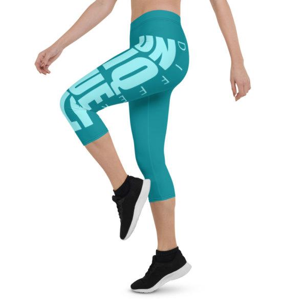 Uniquely Different - Women Capri Leggings 8