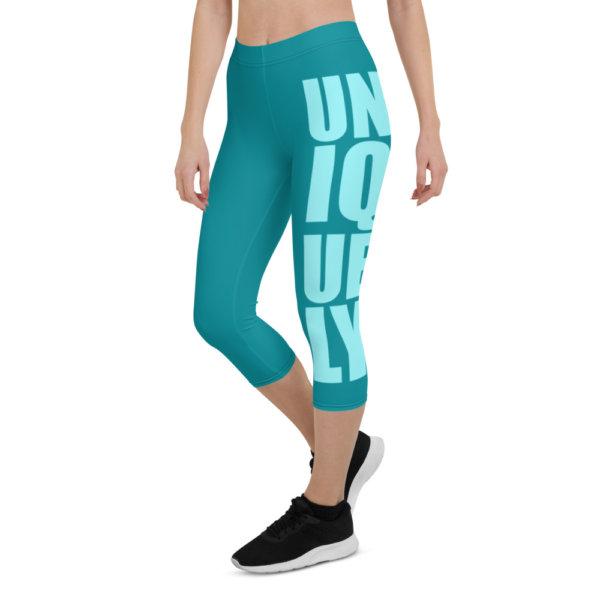 Uniquely Different - Women Capri Leggings 10
