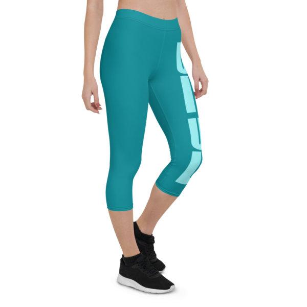 Uniquely Different - Women Capri Leggings 11
