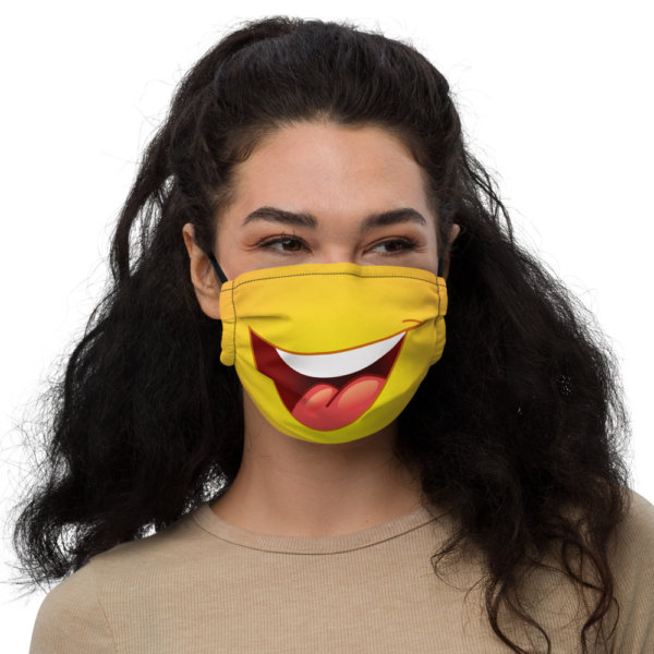 Smiley Face - Premium Face Mask 1