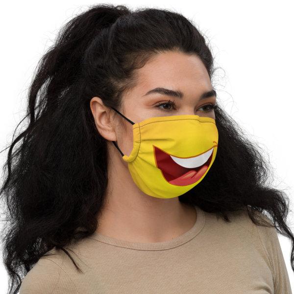 Smiley Face - Premium Face Mask 2