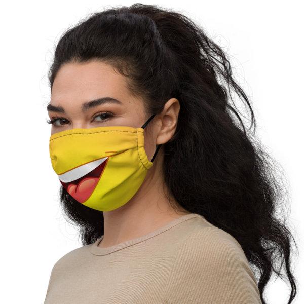 Smiley Face - Premium Face Mask 3
