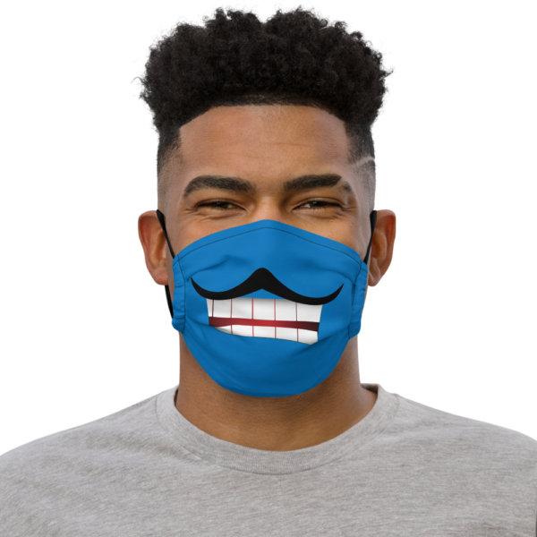Mustache - Premium Face Mask 1