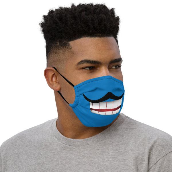 Mustache - Premium Face Mask 2