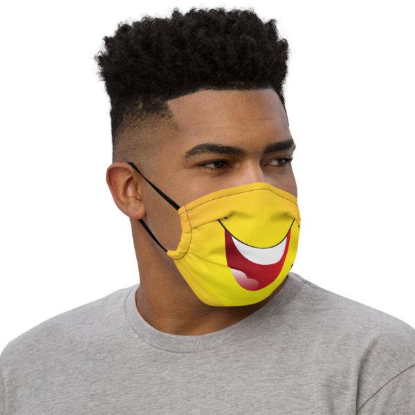 Laughing - Premium Face Mask 2