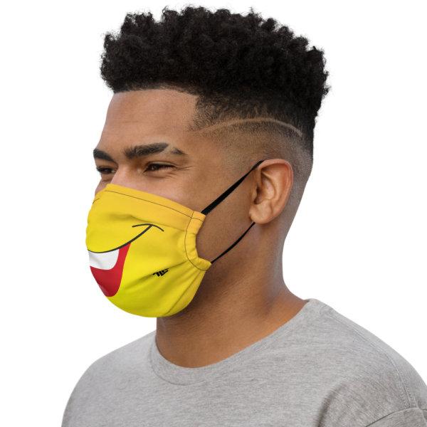 Laughing - Premium Face Mask 3