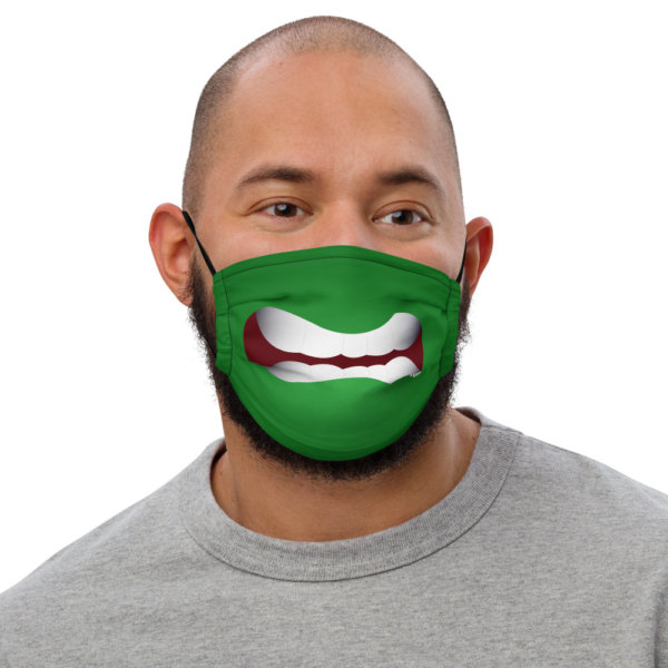 Angry - Premium Face Mask 1