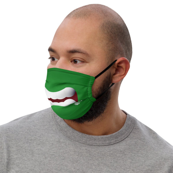 Angry - Premium Face Mask 2