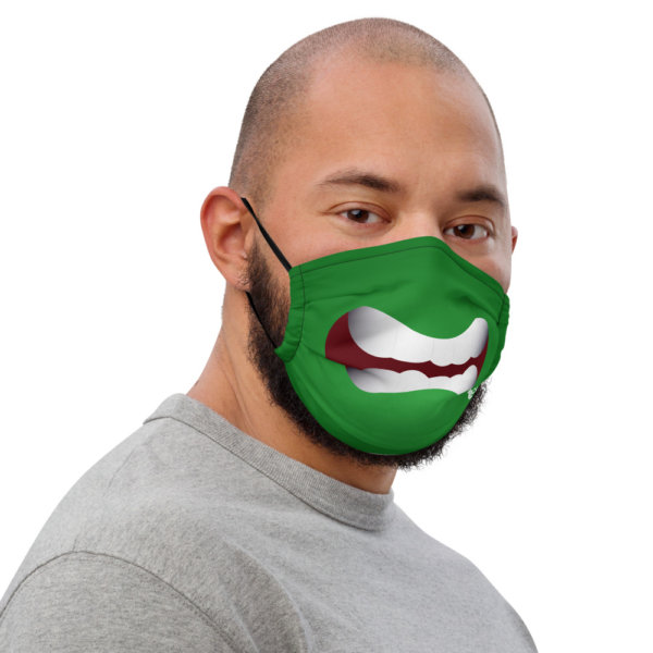 Angry - Premium Face Mask 3