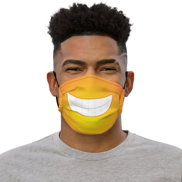 Bright Smile - Premium Face Mask 1