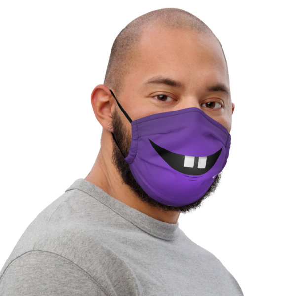 Two Front Teeth - Premium Face Mask 3