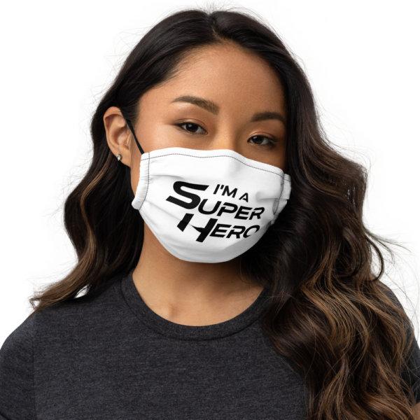 I'm A Super Hero - Premium Face Mask 1