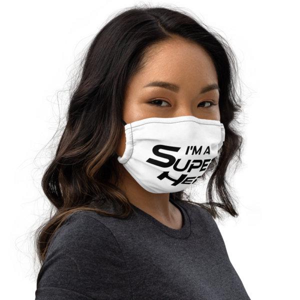 I'm A Super Hero - Premium Face Mask 2