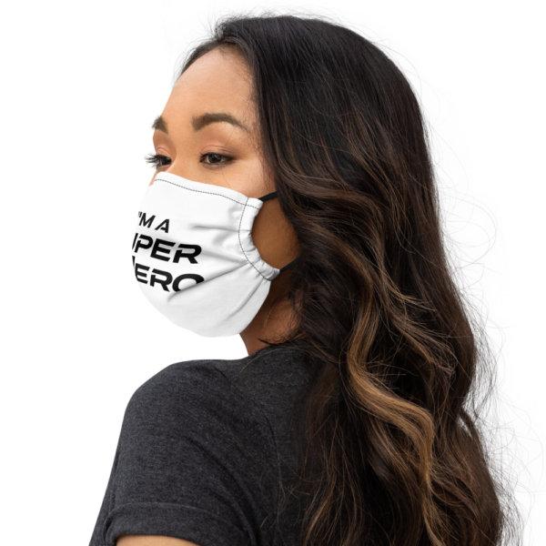 I'm A Super Hero - Premium Face Mask 3