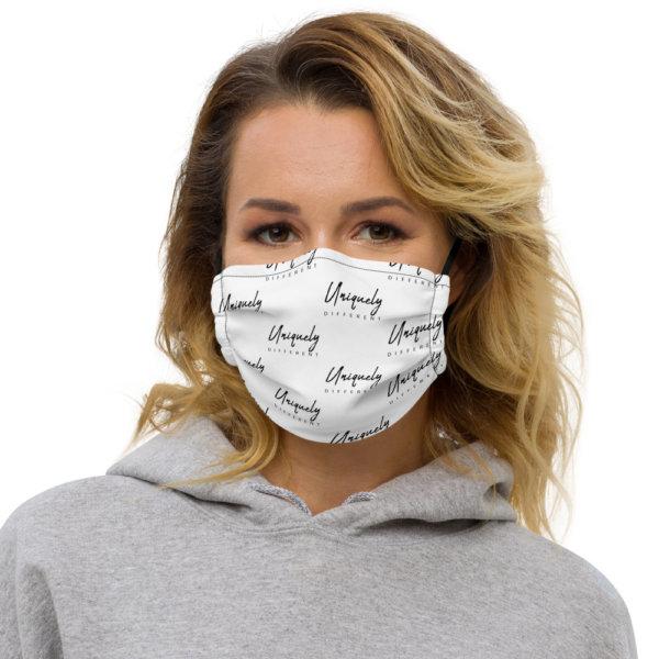 Uniquely Different - Premium Face Mask 1