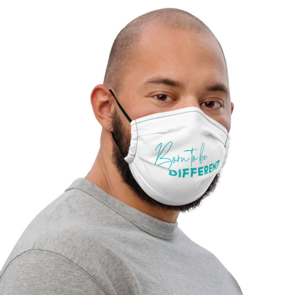 Born To Be Different - Premium Face Mask 3