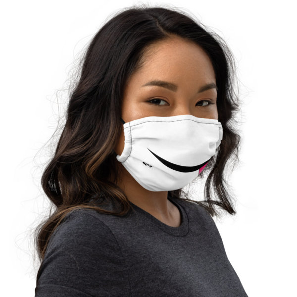Sticking Tongue Out - Premium Face Mask 2