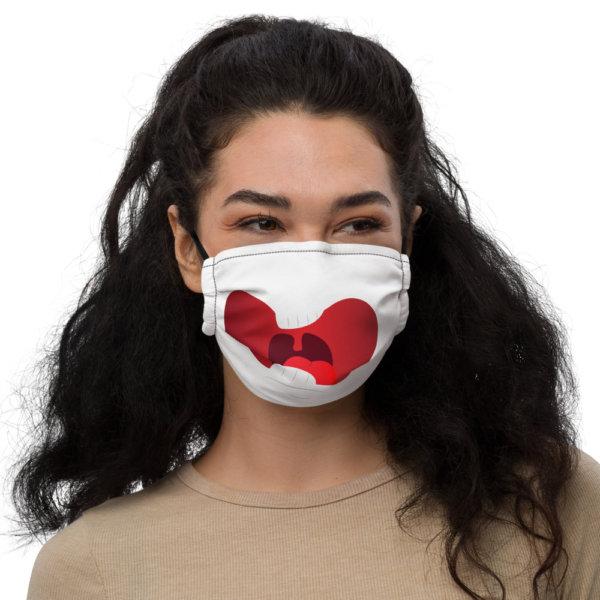 Surprised - Premium Face Mask 1