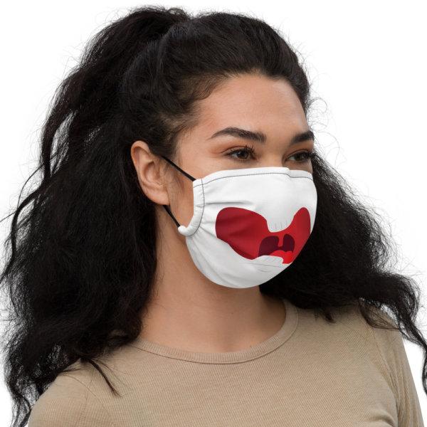 Surprised - Premium Face Mask 2