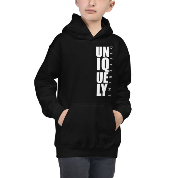 Uniquely Different - Youth Hoodie 3