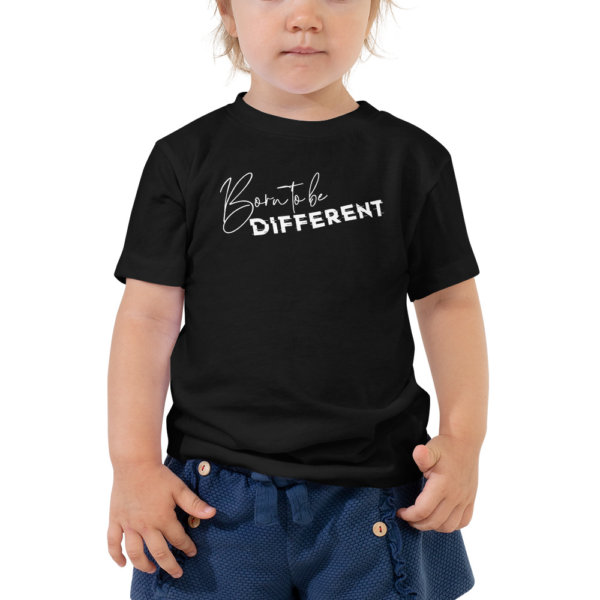 Born to be Different - Toddler Short Sleeve Tee 1