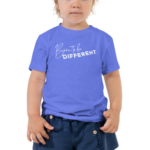 Born to be Different - Toddler Short Sleeve Tee 4