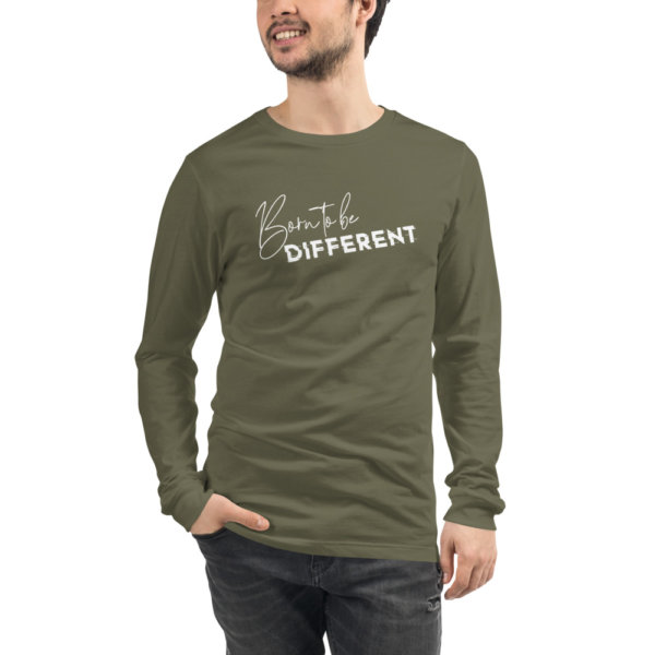 Born To Be Different - Men Long Sleeve Tee 6