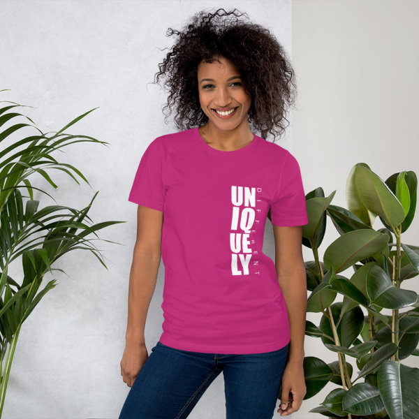 Uniquely Different - Short-Sleeve Women Tee 5