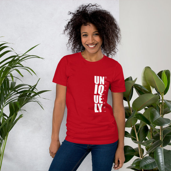 Uniquely Different - Short-Sleeve Women Tee 3