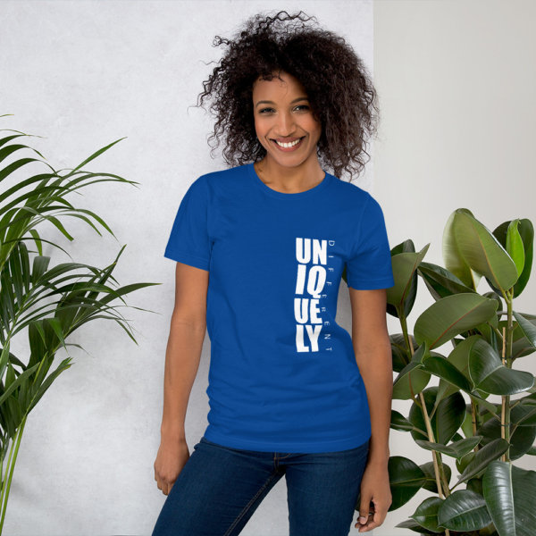 Uniquely Different - Short-Sleeve Women Tee 4