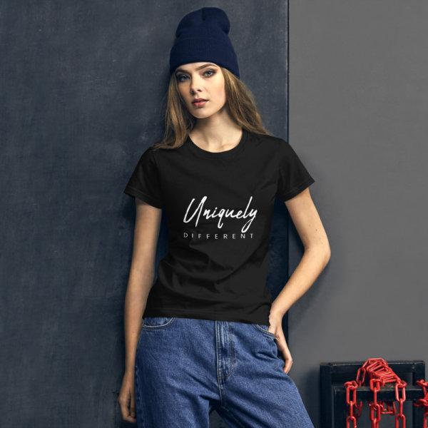 Uniquely Different - Women's short sleeve t-shirt 2