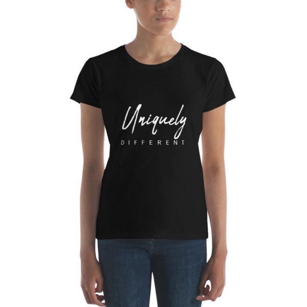 Uniquely Different - Women's short sleeve t-shirt 3