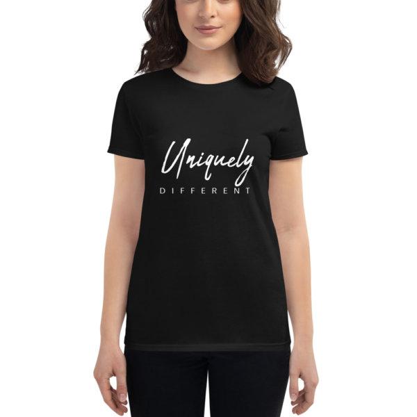 Uniquely Different - Women's short sleeve t-shirt 5