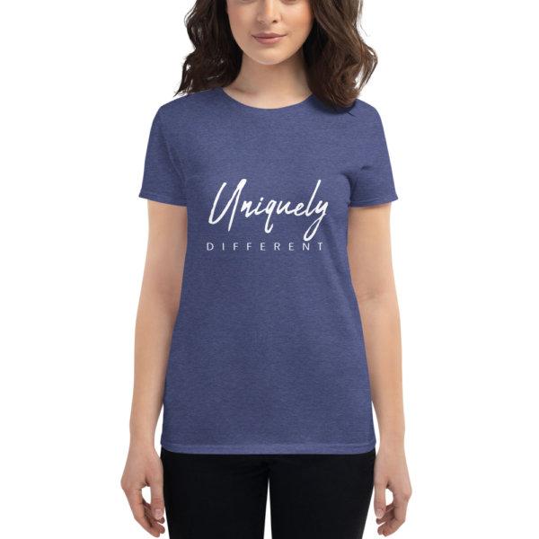 Uniquely Different - Women's short sleeve t-shirt 9