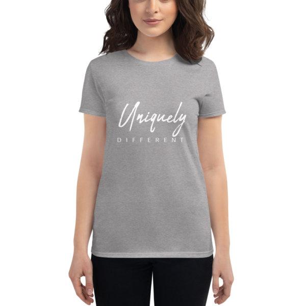 Uniquely Different - Women's short sleeve t-shirt 11