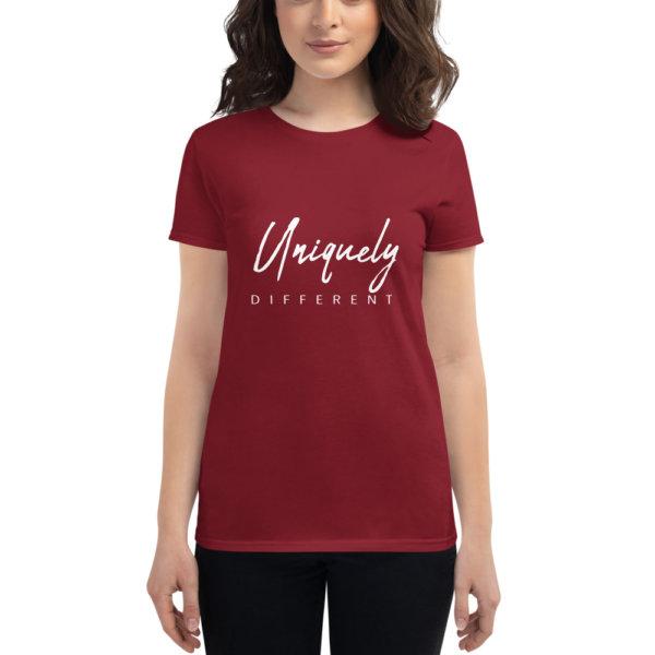 Uniquely Different - Women's short sleeve t-shirt 7