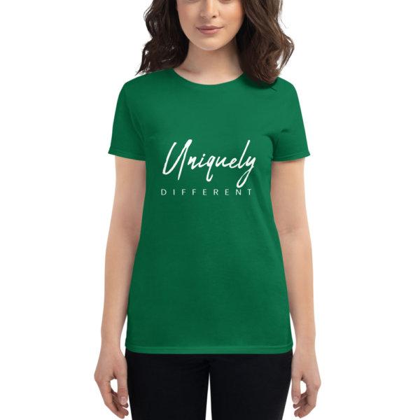 Uniquely Different - Women's short sleeve t-shirt 10