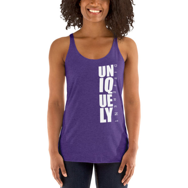 Uniquely Different - Women's Racerback Tank 6