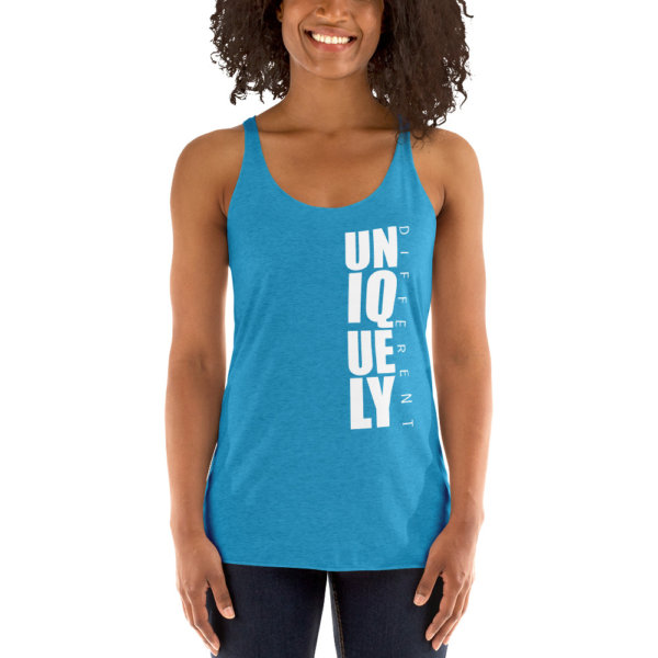 Uniquely Different - Women's Racerback Tank 11
