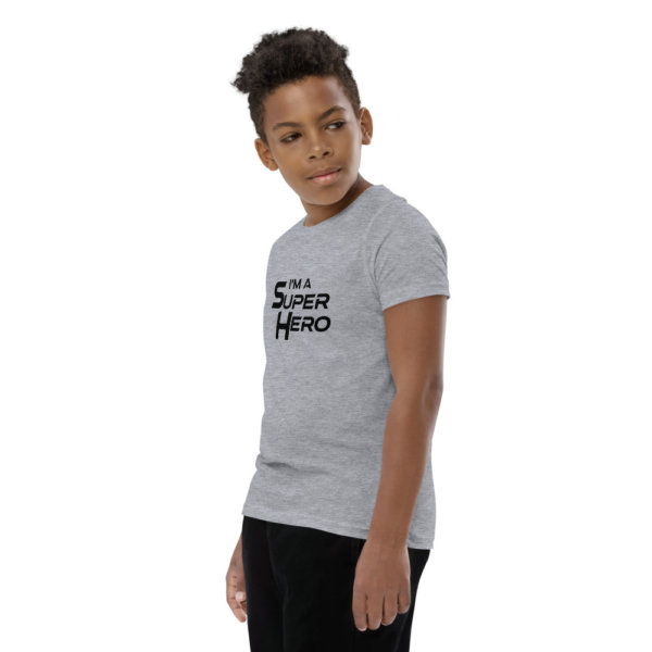 I'm a Superhero - Youth Short Sleeve T-Shirt 7