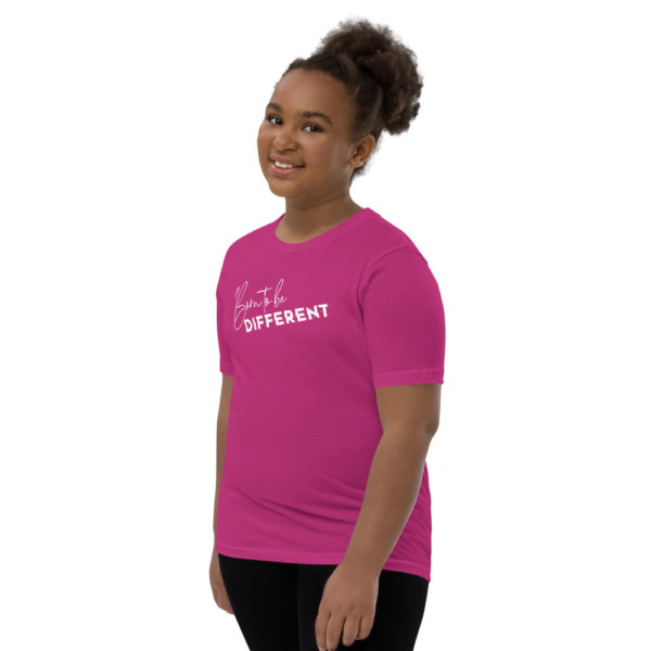 Born to be Different - Youth Short Sleeve T-Shirt 20