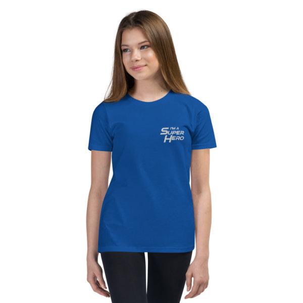 I'm a Superhero - Youth Short Sleeve T-Shirt 2