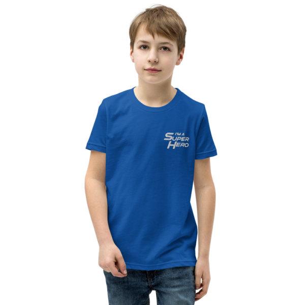 I'm a Superhero - Youth Short Sleeve T-Shirt 3